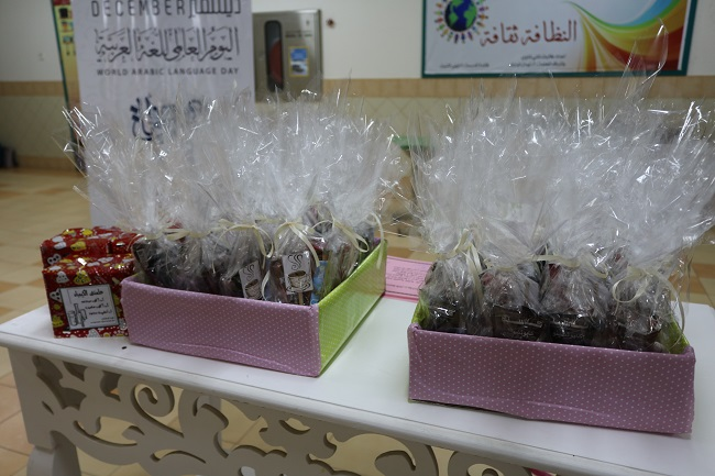 تكريم الطالبات المشاركات بالأنشطة ومشروع ريادي للعام الدراسي 1439\1440هـ
